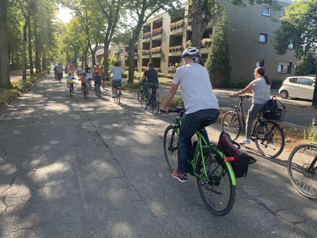 Fahrraddemo Weltkindertag Marl 2020